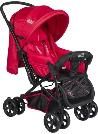 Tommy Baby Nova Çift Yön Lüx Bebek Arabası Puset Kırmızı